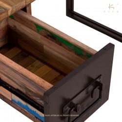 Bureau en bois et métal 120 Industry