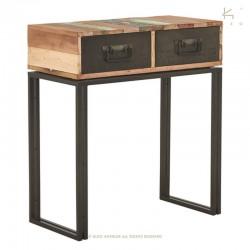 Console en bois et métal 80 Industry