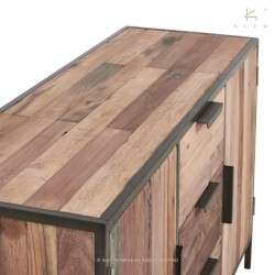 Buffet bois et métal 150 Malaga