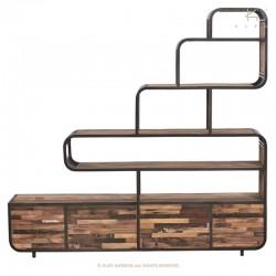 Armoire en bois et métal Influent