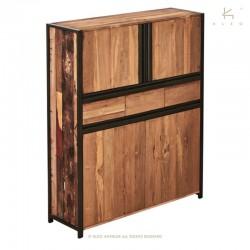 Armoire bois et métal 130 New York