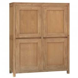 Armoire 4 portes en teck Losar
