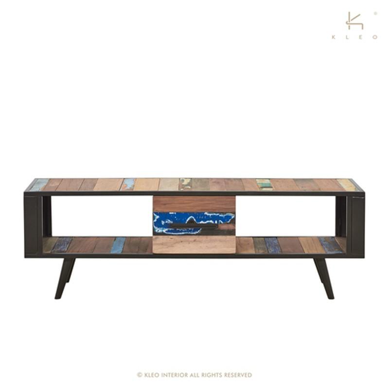 Meuble TV bois et métal 160 Nordik