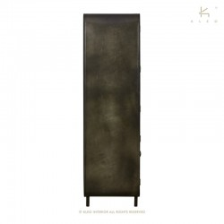 Armoire bois et métal 110 Fifties