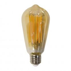 Ampoule LED filament forme goutte