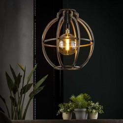 Suspension structure ronde de style vintage 1 ampoule