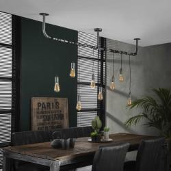 Suspension ampoules suspendues de style industriel