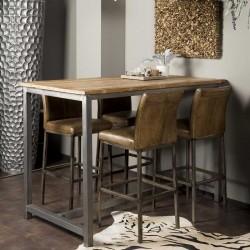 Table de bar en teck 160 Venise