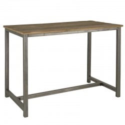 Table de bar en teck 160 Venise