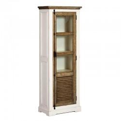 Armoire vitrine en pin 70 Amando