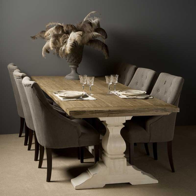 Table à manger en pin Amando