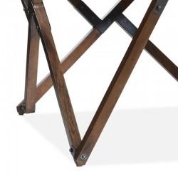 Fauteuil design en cuir Bela
