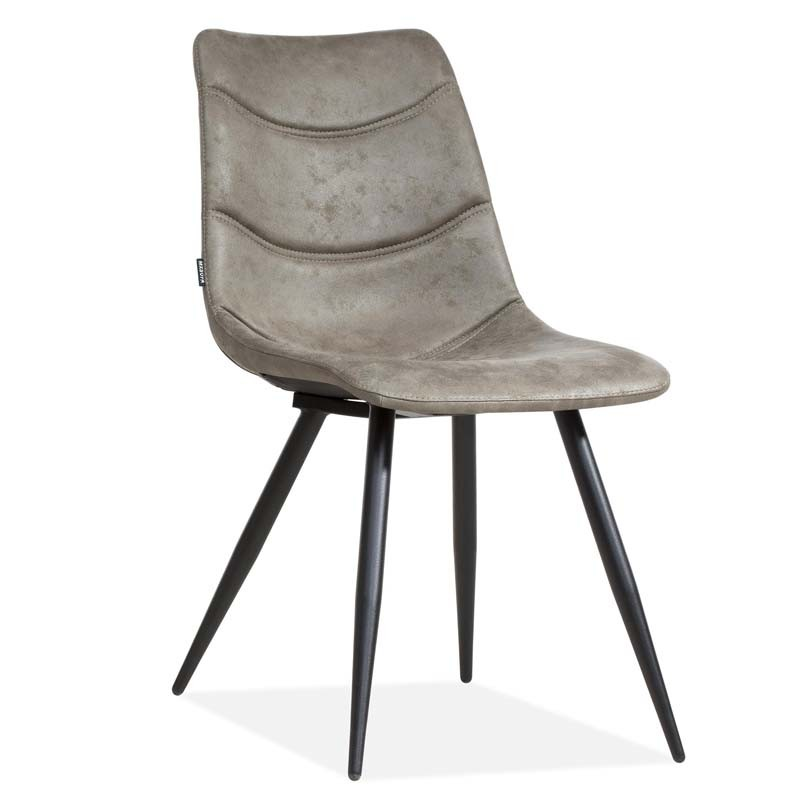 Lot 2 chaises design en tissu Krazy