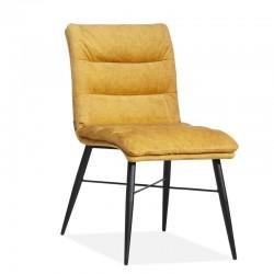 Lot 2 chaises design en tissu Sytas
