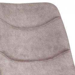 Lot 2 chaises design en tissu Nacky