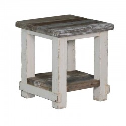 Table basse en pin 50x50 Dana