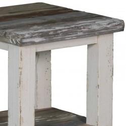 Table basse en pin 50x50 Dana