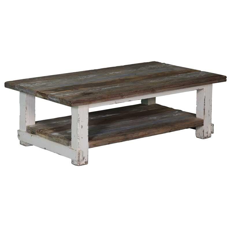 Table basse en pin 140x80 Dana