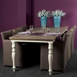 Table à manger en pin Flora