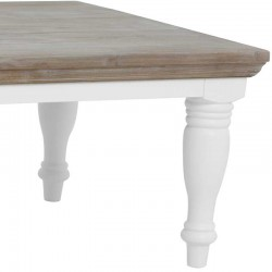 Table basse en pin 130x75 Flora
