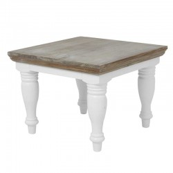 Table basse en pin 60x60 Flora