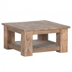 Table basse en teck 100x100 Lorens