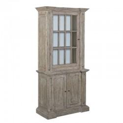 Armoire vitrine en pin 105 Monsa