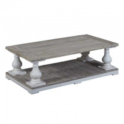 Table basse en pin 140x80 Monsa