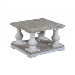 Table basse en pin 70x70 Monsa