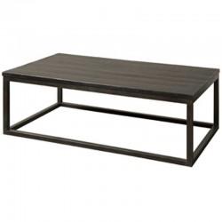 Table basse en bois et métal 135x75 Paterne