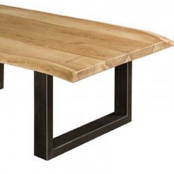 Table basse en acacia 135x75 Urbaya