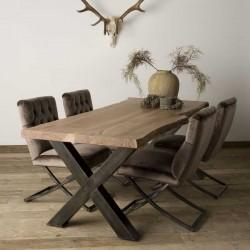 Table à manger en acacia Xabys