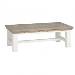 Table basse en bois 135x75 Toscana