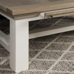Table basse en bois 135x75 Toscana