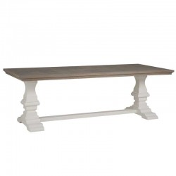 Table romantique en bois Toscana