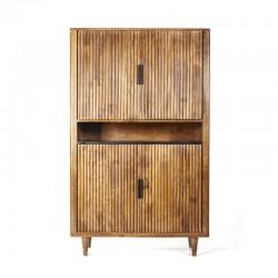 Armoire bois et marbre 105 Cart
