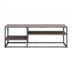 Table basse brune 120x70 Hadson