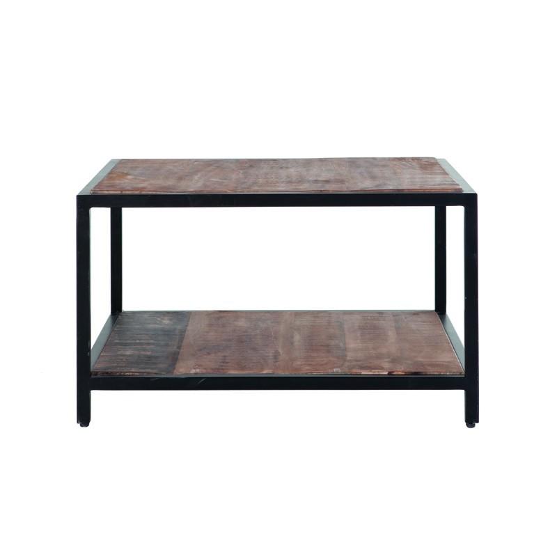 Table d'appoint en manguier 60x60 Sohos