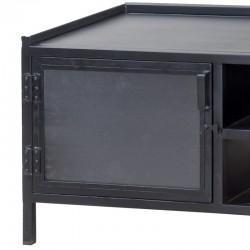 Meuble TV en métal 160 Industriel