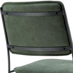 Chaise design en cuir Meez