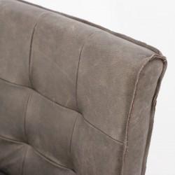 Chaise design en cuir Denis