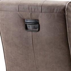 Chaise design en cuir Roger