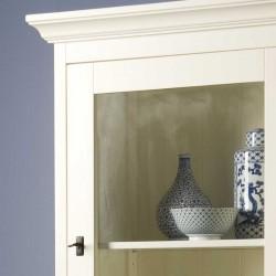 Armoire vitrine en bois 70 Liza