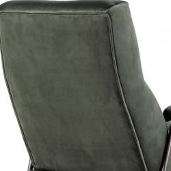 Fauteuil design en velours Williams
