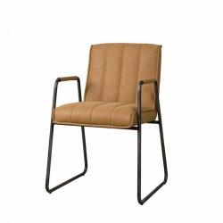 Lot 2 fauteuils design en tissu Sonta