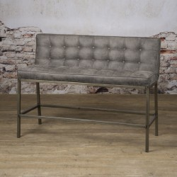 Banc design pour table haute Visca 110 cm