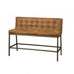 Banc design pour table haute Visca 130 cm