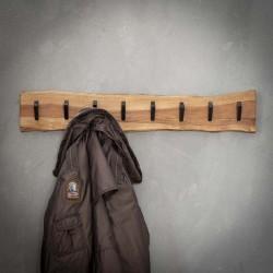Porte manteau 8 crochets en acacia
