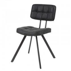 Lot 2 chaises design dossier ouvert