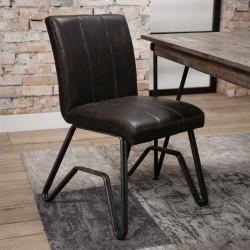 Lot 2 chaises design pieds forme W